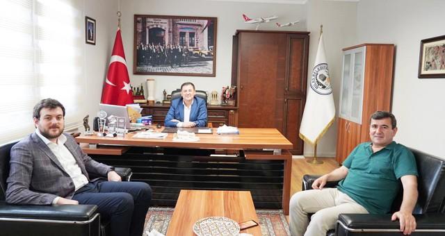 İl sekreterinden Başkan Tokat'a ziyaret