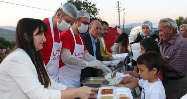 Kızılay Milas Şubesi, sel mağdurlarıyla iftarda buluştu