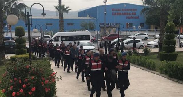 Jandarmadan İnfaz Koruma Memurları'na yönelik operasyon…