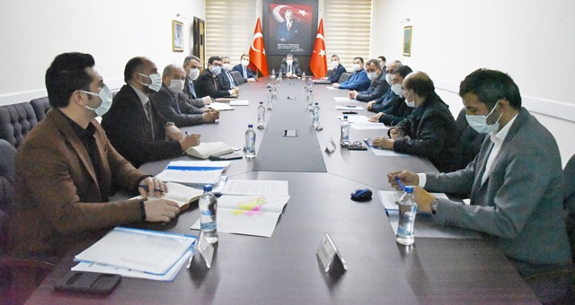 Valilik'te Milas OSB toplantısı