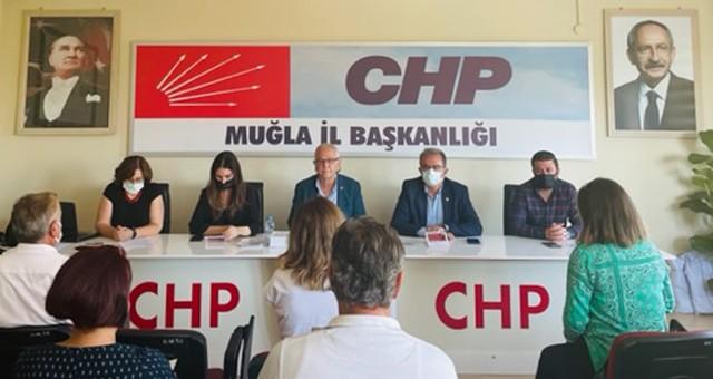 CHP Muğla İl Başkanı Adem Zeybekoğlu ;