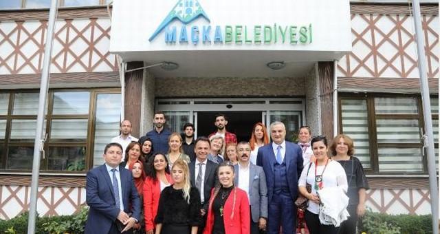 Milas'ın ortak olduğu proje Maçka'da başlatıldı
