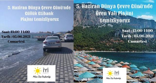 İYİ Parti, Çevre Günü'nde sahil temizliği yapacak..