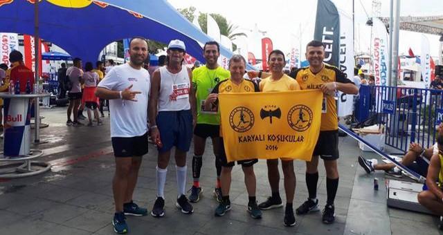 Karyalı Koşucular Koşmaya Devam Ediyorlar