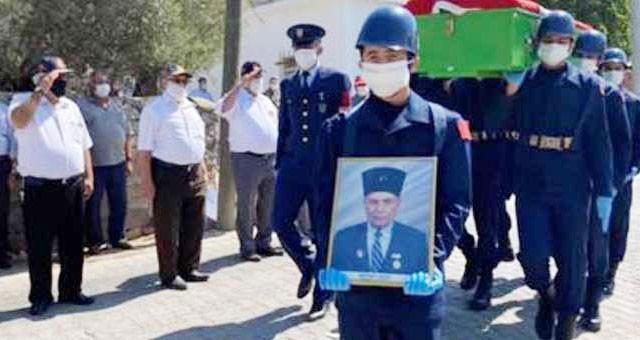 Kore Gazisi törenle son yolculuğuna uğurlandı