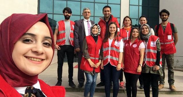 Kızılay'dan Üniversite Öğrencilerine Kıyafet Yardımı…