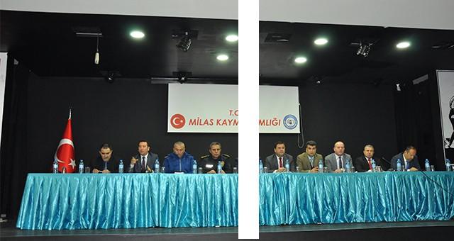 2018 yılının son muhtarlar toplantısı yapıldı