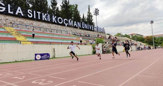 Muğla'yı atletizm final yarışlarında temsil edecekler