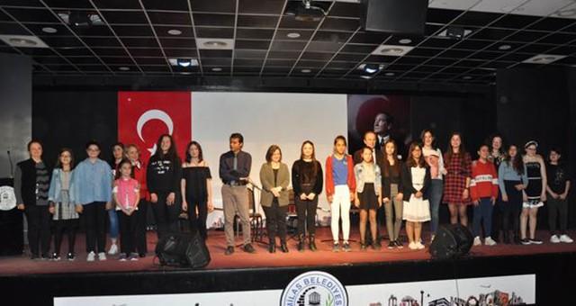 Ortaokullararası ses yarışması finali sonuçlandı