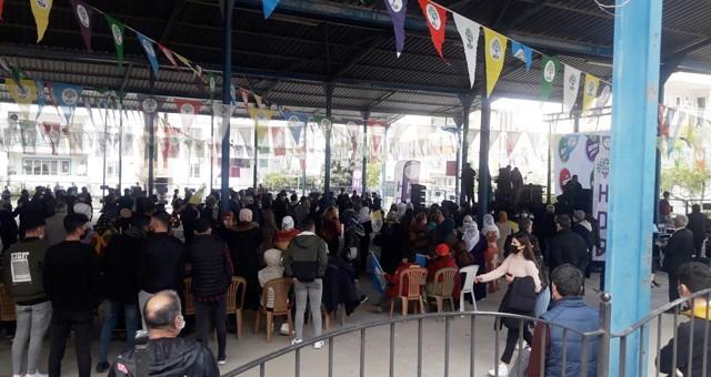 HDP Newroz'u Milas'ta kutladı
