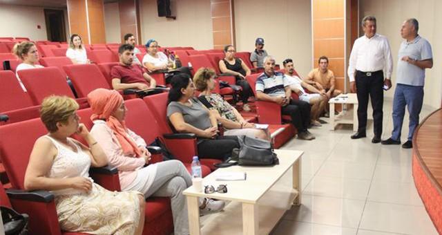 MİTSO'da bu yılın dördüncü girişimcilik eğitimi yapıldı:  HERKESİN AMACI KENDİ İŞİNİ KURABİLMEK...