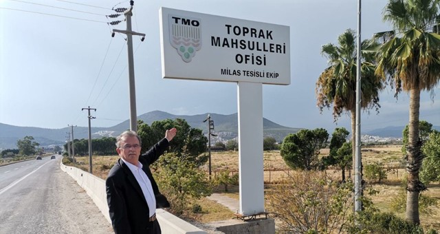 Süleyman Girgin TMO Milas Tesislerinin kiralanması hakkında TBMM Başkanlığı'na soru önergesi verdi..