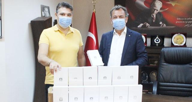 MİTSO'ya bağışlanan tabletlerMilli Eğitime teslim edildi