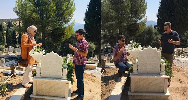 Eğitim gönüllüsü Mete Ersoy, mezarı başında anıldı