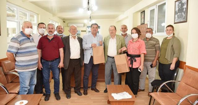 Başkan Tokat'tan Tariş'e ziyaret