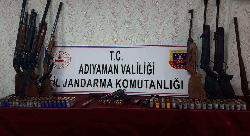 Adıyaman Kahta'da Silah Operasyonu
