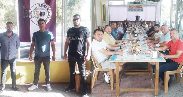 Yeni Milasspor'a kahvaltı