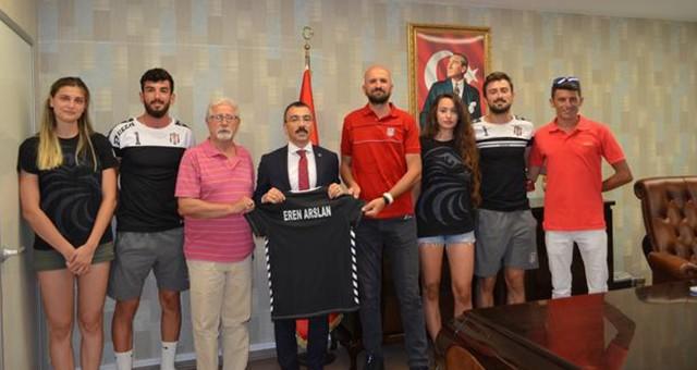 Beşiktaş Plaj Voleybol Takımı Milas'ta