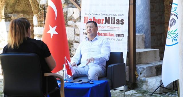 Başkan Tokat, Radyo Gözlem'in konuğu oldu