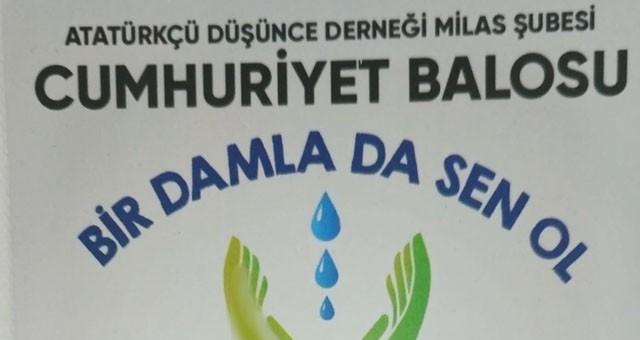 ADD, Cumhuriyet Balosu düzenliyor