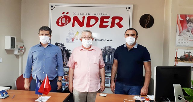 Basın İlan Kurumu Muğla Şube Müdürü'nden gazetemize ziyaret..
