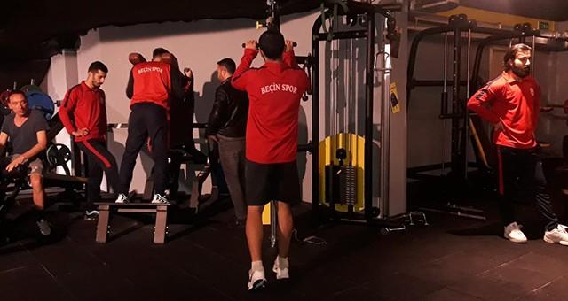 Beçin Gençlikspor ikinci yarı hazırlıklarını sürdürüyor