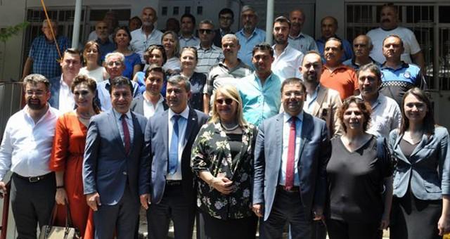 Bodrum Belediye Başkanı Aras'tan Milas ziyareti…