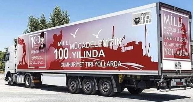 CUMHURİYET TIRI MARMARİS'TE