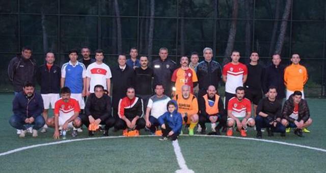 'Polis Haftası'nı maç yaparak kutladılar