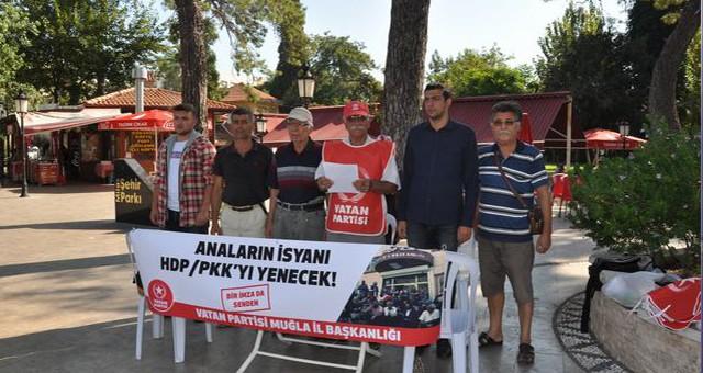 """Vatan Partisi'nden iki çağrı:  """"HDP kapatılsın, Diyarbakır'da eylem yapan anneleri destekleyin"""""""