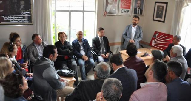 CHP ilçe binasında bu hafta, İstanbul seçimleri konuşuldu