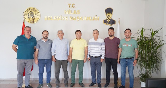 Vekillerden Başkan Tokat'a ziyaret