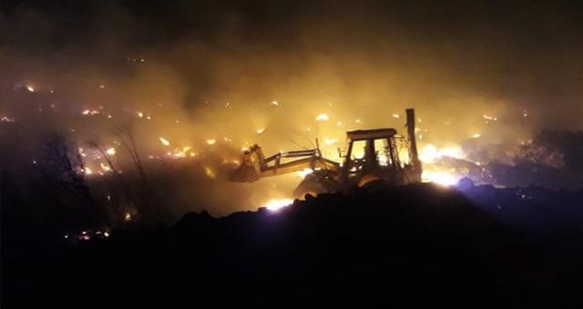 Ören'de yangın…