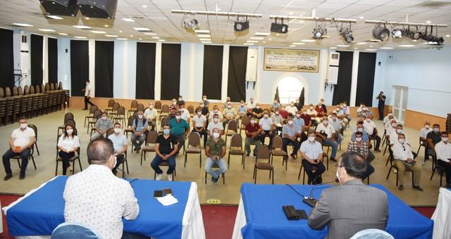 Muhtarları bilgilendirme toplantısı gerçekleştirildi