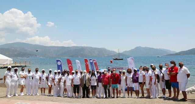 Açık su milli takım seçmesi ve Türkiye Şampiyonası yarışları başladı
