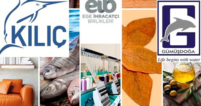 Egeli ihracatçılar, İSO 500 listesine 113 firmayla damgalarını vurdular