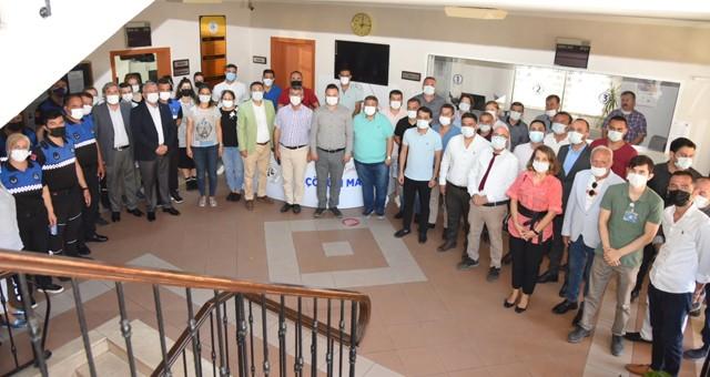 Başkan Tokat belediye personeliyle bayramlaştı