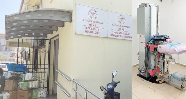 Milas'a mamografi cihazi