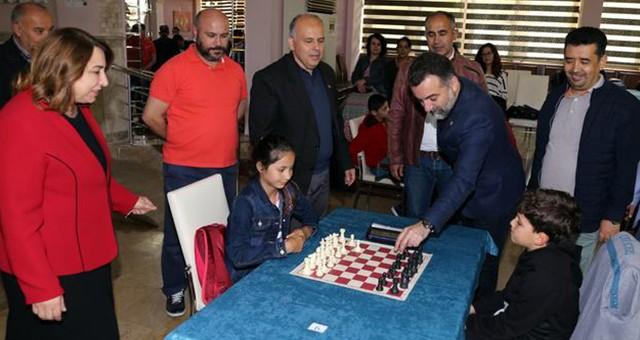 Muğla Gazeteciler Cemiyeti Satranç Turnuvasına yoğun ilgi