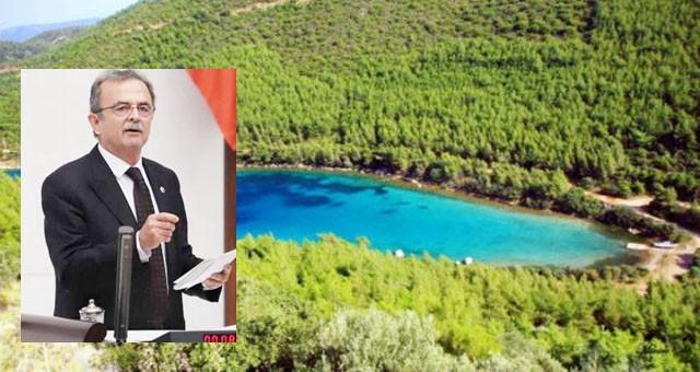 Girgin Cennet Koyu'nu meclise taşıdı: