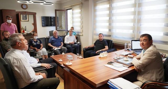 Başkan Tokat, DSİ yetkilileri ile görüştü