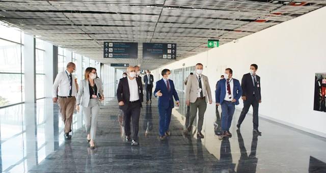 Milas-Bodrum Havalimanı'nda iç hat uçuşları başladı..