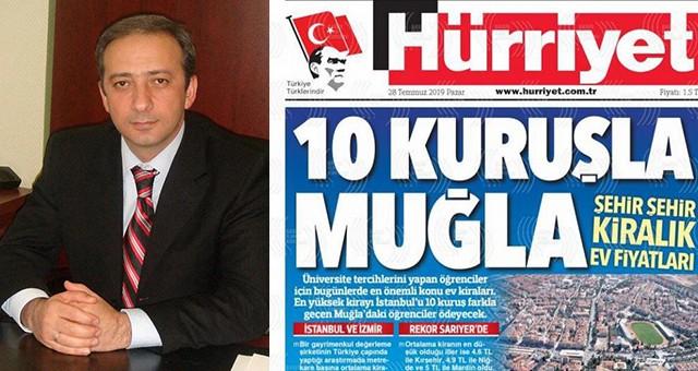 """AKP İl Başkanı Kadem Mete:  """"Muğla için utanç günü"""""""