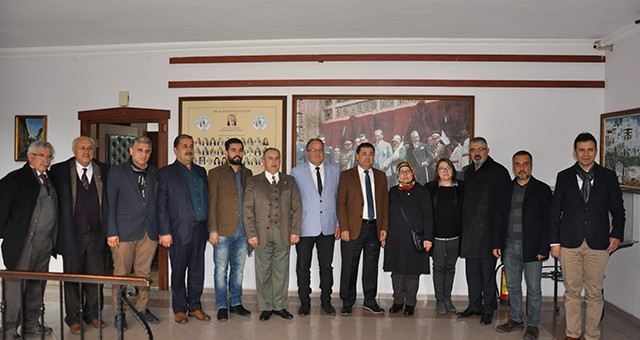 İYİ Parti'den, Başkan Tokat'a ziyaret