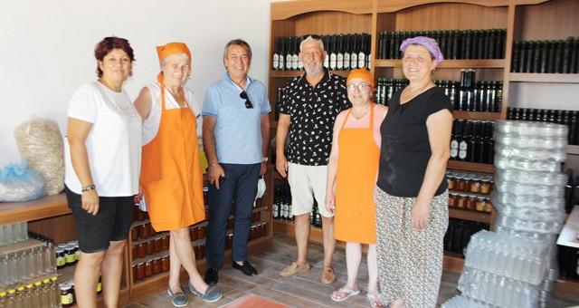 Milas'ta 14 kadının örnek kooperatif başarısı...