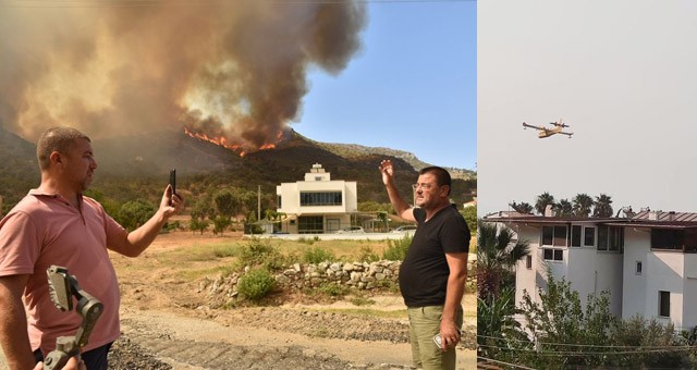 Yangın Türkevleri, Akçakaya ve Fesleğen'de devam ediyor..