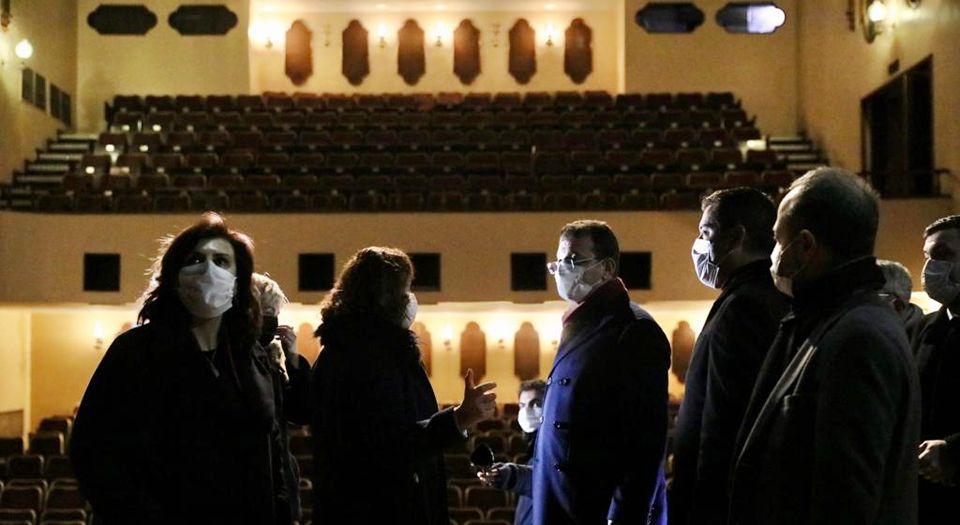 """""""istanbul'da Kenter Tiyatrosu İbb Çatısı Altında Kalacak"""""""