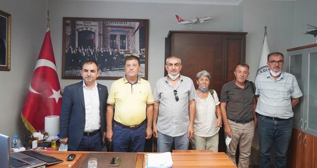 Emek Partisi'nden Başkan Tokat'a ziyaret