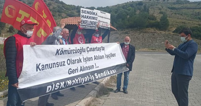 Çınartaş işçilerine HKP'den destek