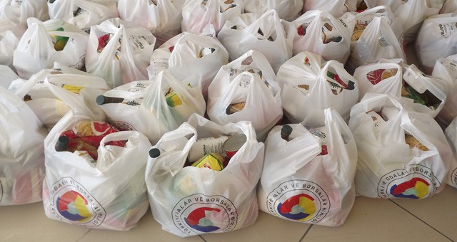 TOBB / MİTSO işbirliğinde 800 aile sevindirildi